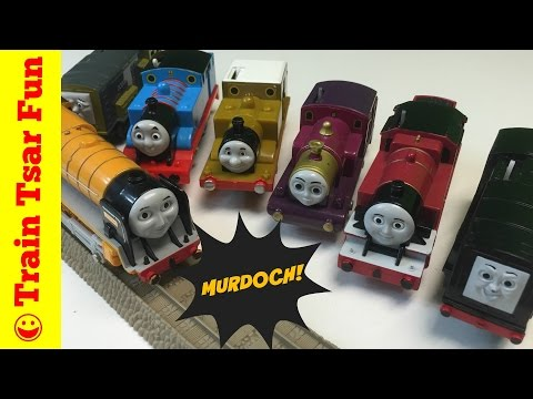 Thomas the Tank Engine Trains Trackmaster Murdoch, Stepney, Lady, Diesel, Arthur