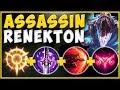WTF! BURST DAMAGE FROM ASSASSIN RENEKTON IS TRULY ABSURD! RENEKTON TOP SEASON 10! League of Legends