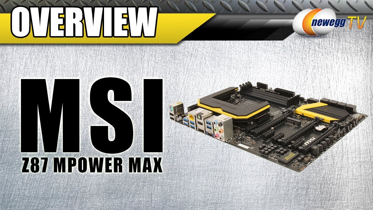 MSI Z87 MPOWER MAX INTEL SMART CONNECT TECHNOLOGY DRIVERS PC
