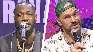 Deontay Wilder vs. Tyson Fury 2 - FULL PRESS CONFERENCE | Heavyweight Boxing
