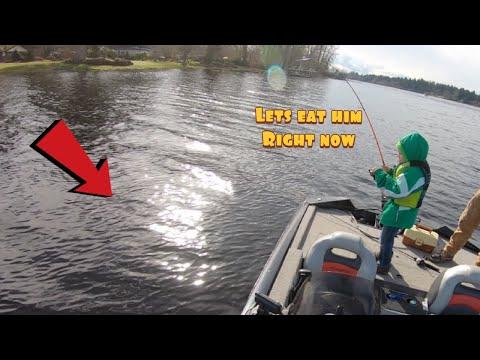 Fishing Black Lake ||  We Found The Fish