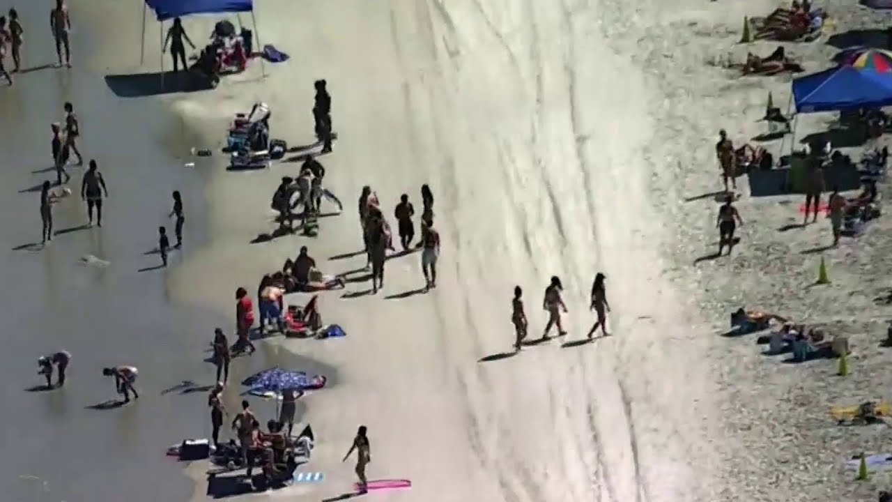 Officials step up security after massive crowds flock to Daytona ...