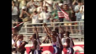 World Record - 4X400m Men Stuttgart 1993