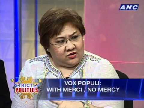 ANC Strictly Politics: Vox Populi: No Mercy With Merci 2/5