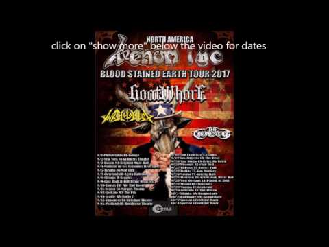 Venom Inc Blood Stained Earth Tour w/ ...