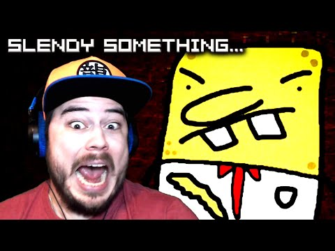 SLENDER MAN HAS NEW FRIENDS TO STOP ME!! | Slendy Something (Part 1)