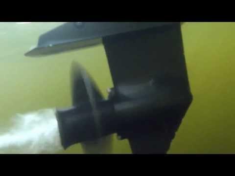 полировка лодочного мотора