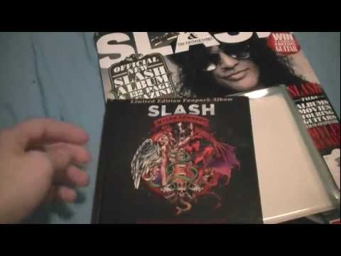 Unboxing Slash's Apocalyptic Love Classic Rock Fanpack Edition #1