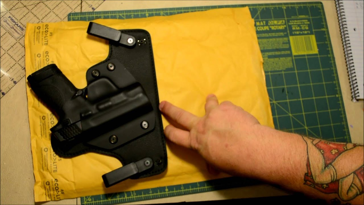 M And P Shield Holster UPDATE: Alien Gear Clo...