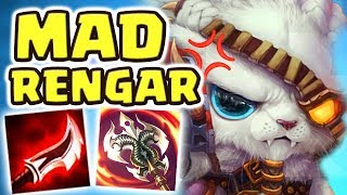 I LOST 9 GAMES IN A ROW...THIS WAS THE 10TH GAME | BEST WAY TO TILT MORDEKAISER MAINS!!! MAD RENGAR