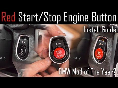Start Stop Engine Schalter Druckknopf für BMW F01 F10 F12 F13 F20 F21 F30 F32
