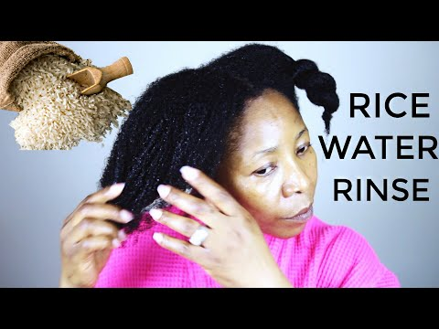 I Tried Rice Water for Hair Growth | JumieAnne