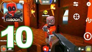Kuboom - Gameplay Walkthrough Part 10 - Striker GUN Review (Android Games)