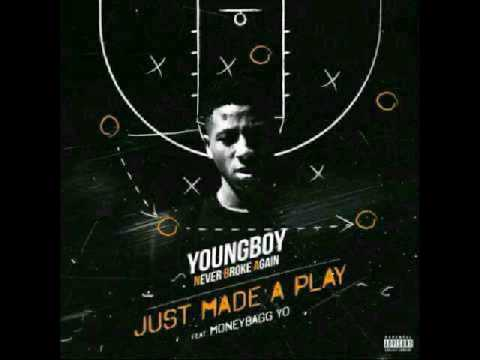 """NBA Youngboy """"Just Made A Play"""" ft. Money Bag Yo (2017)"""