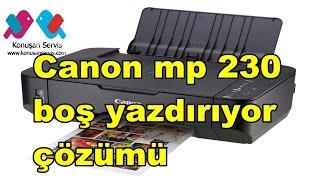CANON PIXMA MP230 - ip2700 kağıt boş çıkıyor