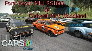 Project CARS: Online (b861) {Ford Escort Mk1 RS1600 @ Cadwell Park Woodland} 60 FPS