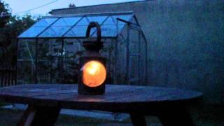 Testing an old British Rail Three Aspect Hand Lamp - Milford Jc
