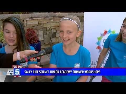 SALLY RIDE SCIENCE JUNIOR ACADEMY SUMMER WORKSHOPS  KSWB TV  3 12 18 9am HD