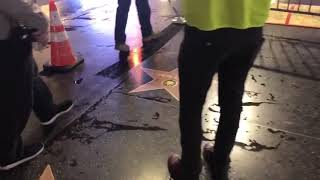Payback's a B****! Right-Wing Street Artists Plasters Trump Stars on Hollywood Walk of Fame Warns