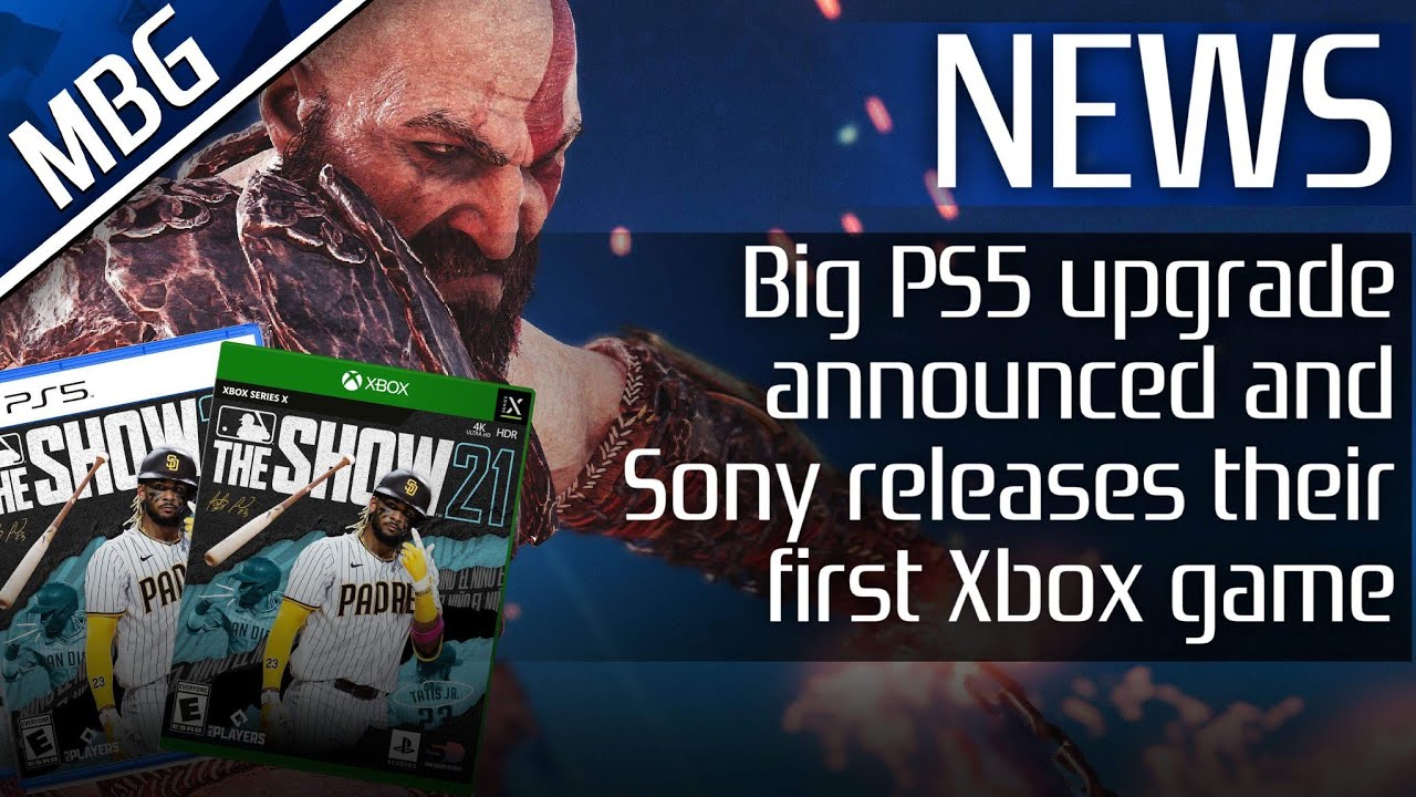 Big PS5 Upgrade Announced, Sony Releases MLB The Show 21 On Xbox, Gran Turismo 7 Update