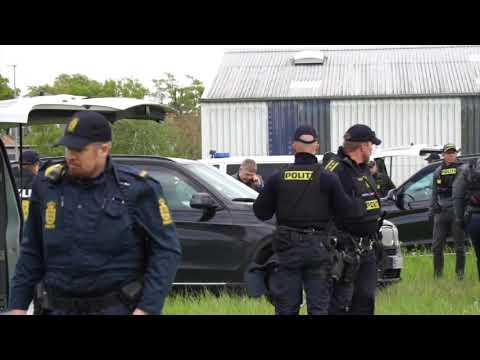 Stram Kurs: Tegn Muhammed dag på Motalavej i Korsør