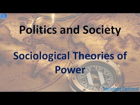 Sociological theories of Power Sociology Optional UPSC CSE