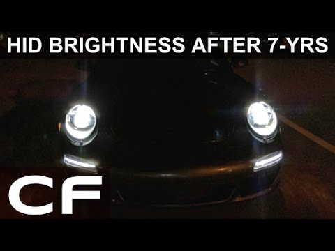 Do Hid Headlights Lose Brightness Over Time Osram Cool Blue Xenarc