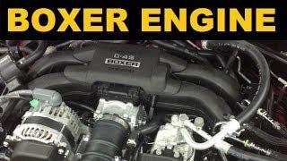 Boxer Engine - Flat Four Engine - Explained