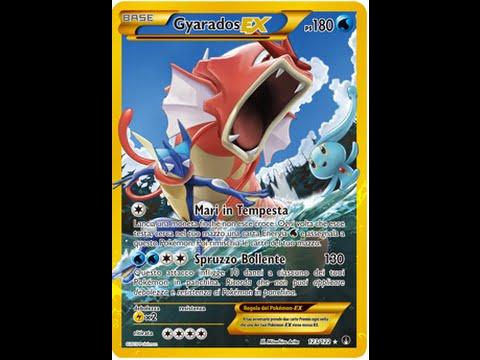 Gyarados fuoriserie 123/122 SEGRETA: SPACCHETTAMENTO pokemon xy TURBOCRASH