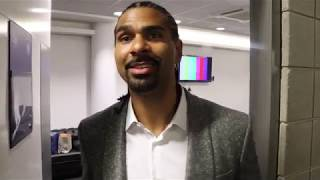 'I WAS WORRIED - I THOUGHT THEY MADE A MISTAKE' - ADMITS DAVID HAYE, HONEST ON  WHYTE WIN OVER RIVAS