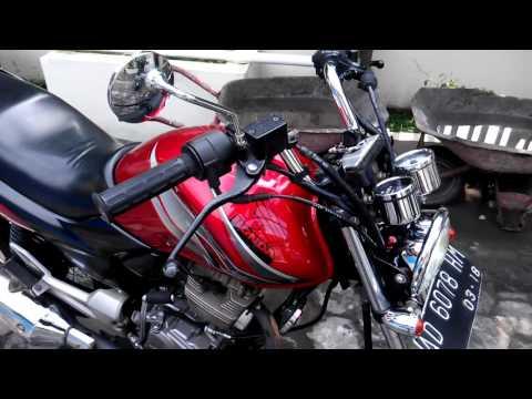 Modifikasi Lampu Honda Megapro Old
