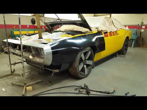Dodge Challenger GTX project part 26