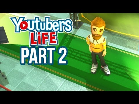DON'T USE COPYRIGHTED CONTENT - YouTubers Life Gameplay Walkthrough Part 2