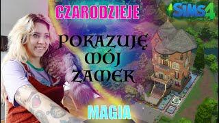 KRAINA MAGII - zbudowałam zamek jak Hogwart #2 The Sims 4