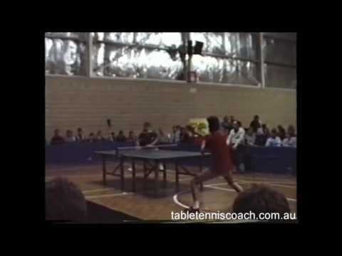 Rare Table Tennis Footage!!!