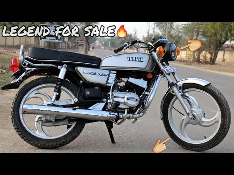 25 years old yamaha Rx 100 best modified ever 🔥 - YouTube