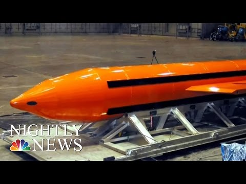 Thumbnail: 36 ISIS Fighters Killed As US Dropped Massive Bomb, Afghan Gov't Says | NBC Nightly News