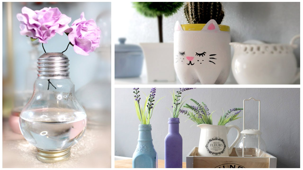 6 tumblr inspired diy room decor roxxsaurus youtube for Room decor stuff