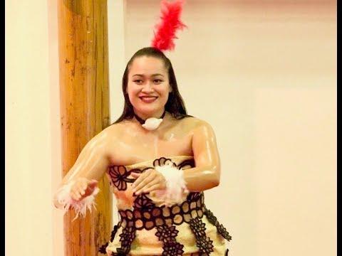 Tonga Masani & Miss Heilala Tau'olunga - Teu Fakatulou - Pacific Media Summit Opening Ceremony