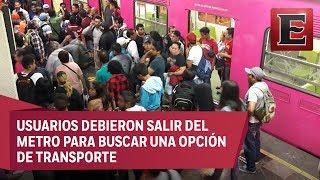Falla en la Línea 9 del Metro deja a miles sin servicio