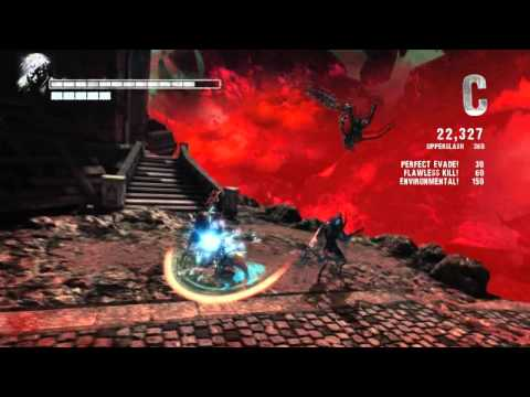 DmC:Vergil Very Fuking Combos! Travel Video