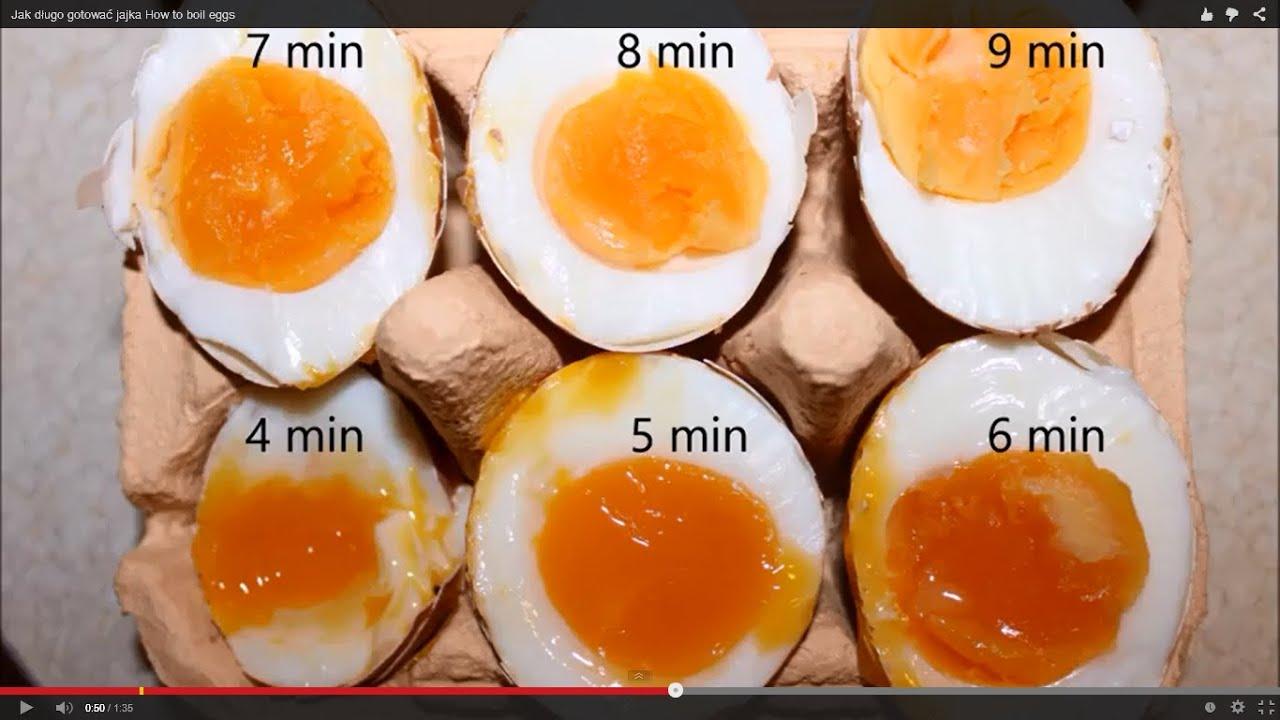 Ile Gotować Jajka How To Boil Eggs Youtube
