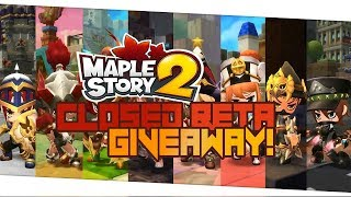 How To Play MapleStory 2 - MapleStory 2 Closed Beta Key Giveaway!