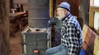 Batch Box Rocket Mass Heater with Peter van den Berg