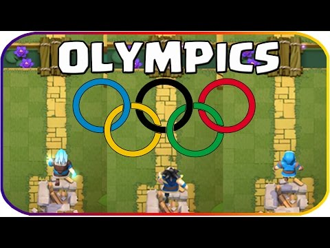 Clash Royale Olympics  | Which Wizard Is The Best?