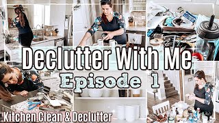 NEW!! KITCHEN DECLUTTER & CLEAN WITH ME 2021 ✻ WHOLE HOUSE DECLUTTERING SERIES | EPISODE 1