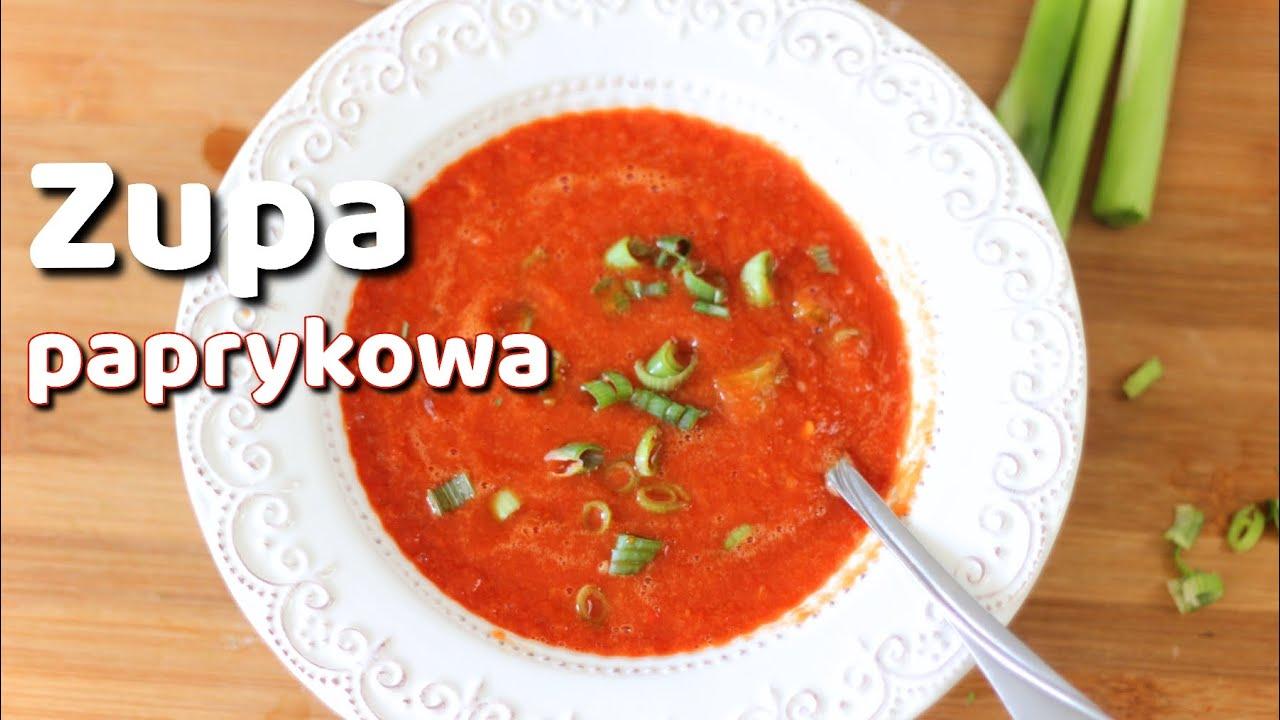 Paprykowa Zupa Krem Jak Zrobić Zupę