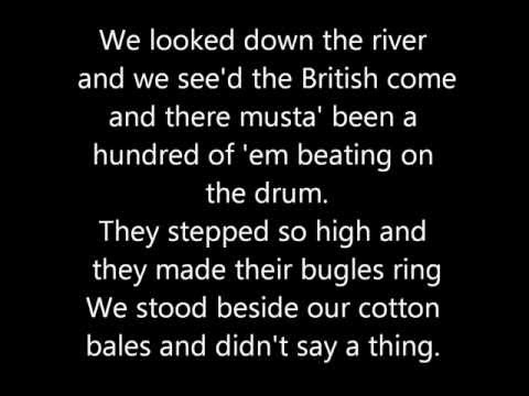 Johnny Horton  Battle of New Orleans Lyrics