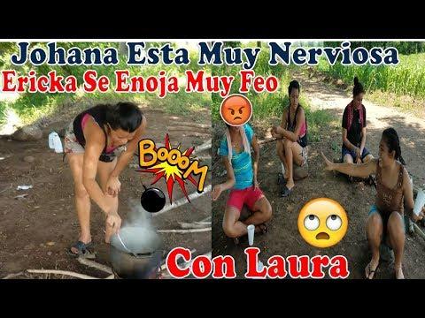 -Laura Saca De Onda Ha Ericka ,No Le Cuadro Nada Lo Que Le Dice😡,Johana Esta Timida-P3 thumbnail