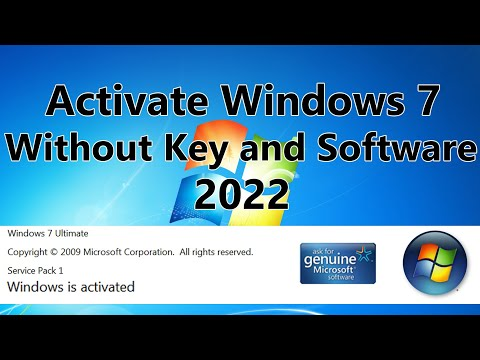 2019! Windows 7 Activation Without Software And Key For Free Using Batch File